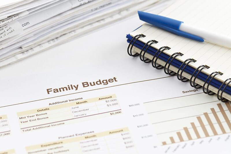 תוכנה לניהול תקציב משפחתי